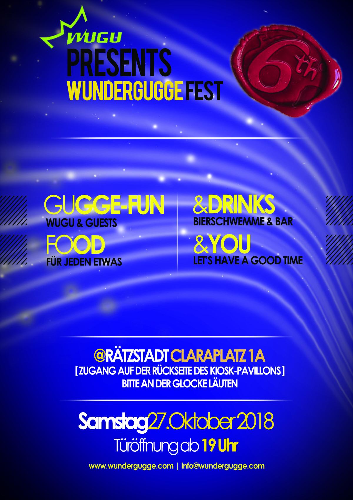 Flyer WuGu Fest 2018